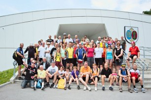 Foto auf Teilnehmerrekord bei der Sternfahrt 12!